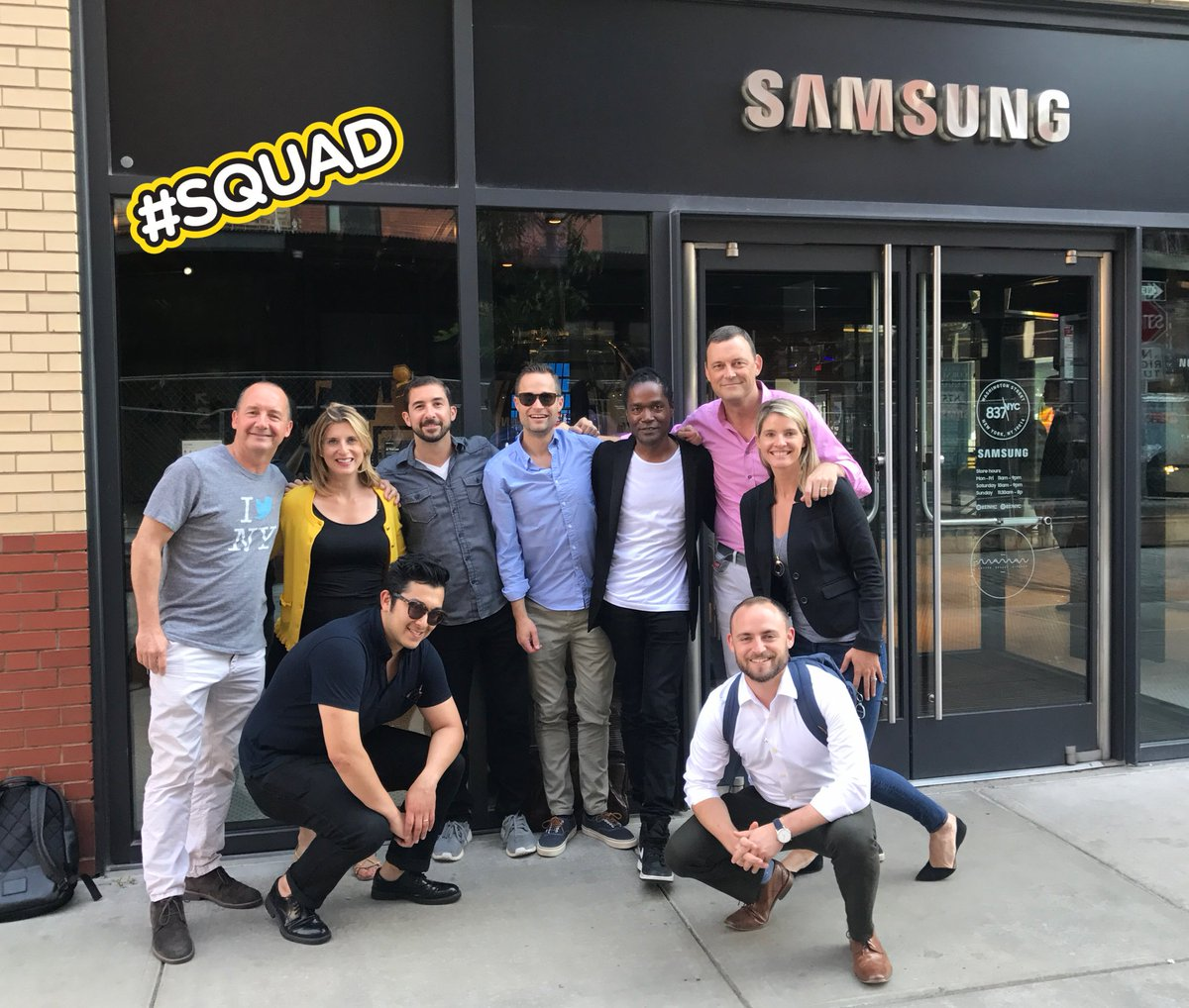 #RichMegastore   RT @ChazCasual: RT @sandyearley: These people. This team. So lucky. #caremore #oneteam #samsung <br>http://pic.twitter.com/7qBCKCAmvH
