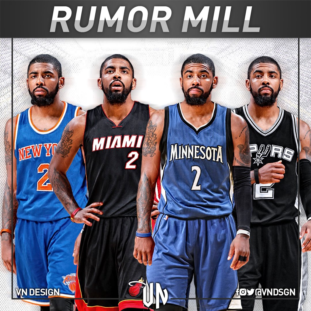 Thumbnail for Reactions To Kyrie Irving Trade Request