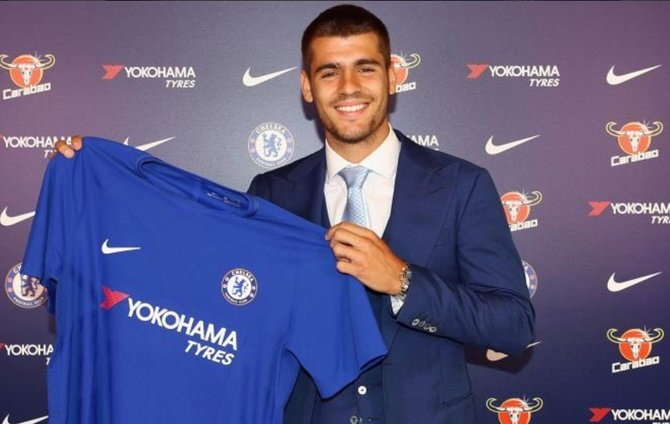 💷💷💷 @AlvaroMorata's place on @ChelseaFC's list of expensive players https://t.co/zMUBv94sYS
