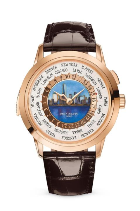 Patek Philippe unveiled a $560,000 World Time Minute Repeater watch at Grand Exhibition, New York: https://t.co/07THWb67Gw