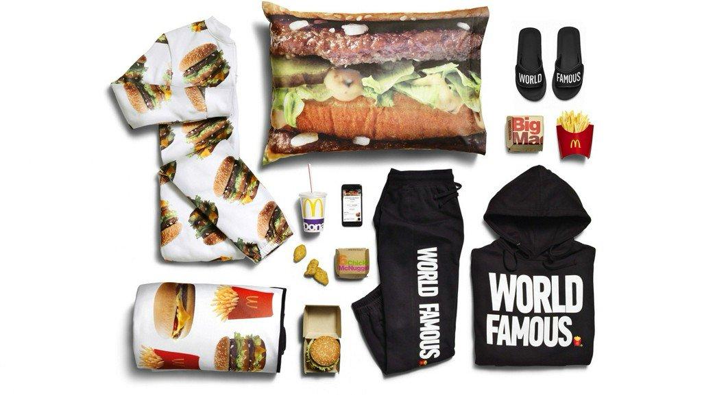 McDonald's adds Big Mac onesie, sweatsuit to delivery items https://t.co/ZtKbBcEel1