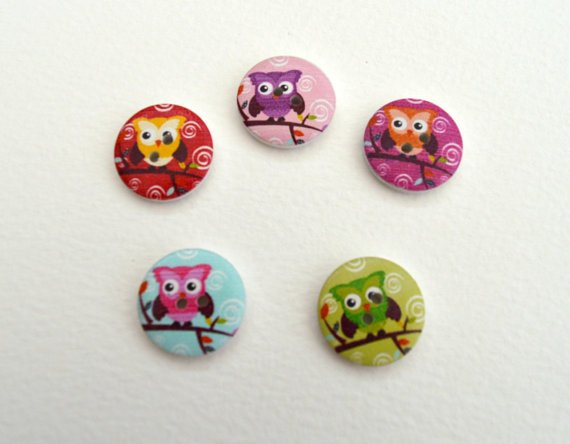 Wooden#owl#buttons(10 pack) for crafting. http:// ow.ly/DPiT30dItTE  &nbsp;   #scrapbooking#UK<br>http://pic.twitter.com/jPaT1QzLjI
