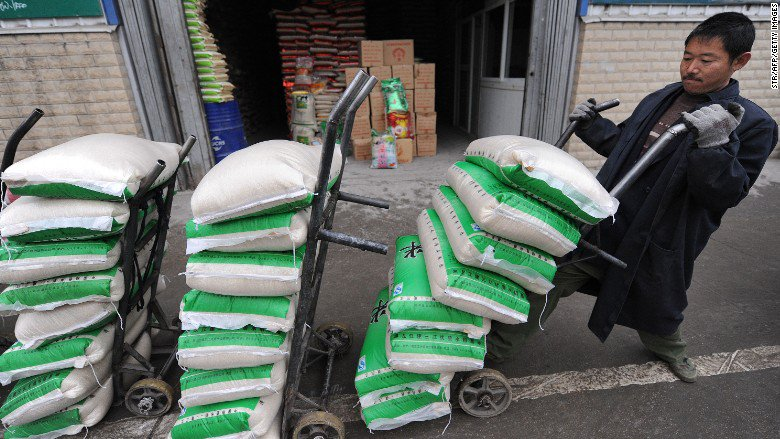 The United States has inked a deal to sell rice to China for the first time ever