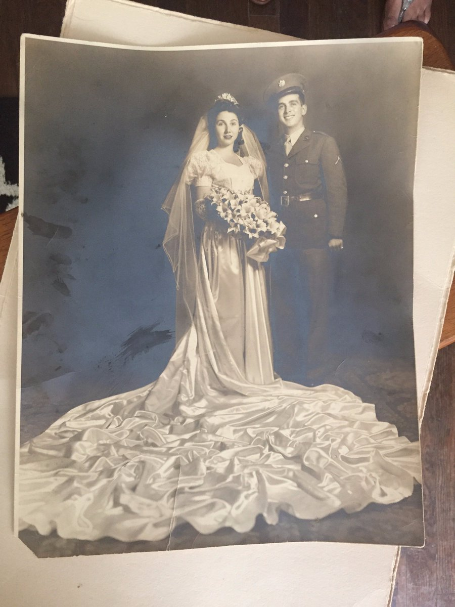 The mystery of the lost east Dallas wedding photo - solved. The love story of Albert and Madeline tonight 10pm @wfaachannel8