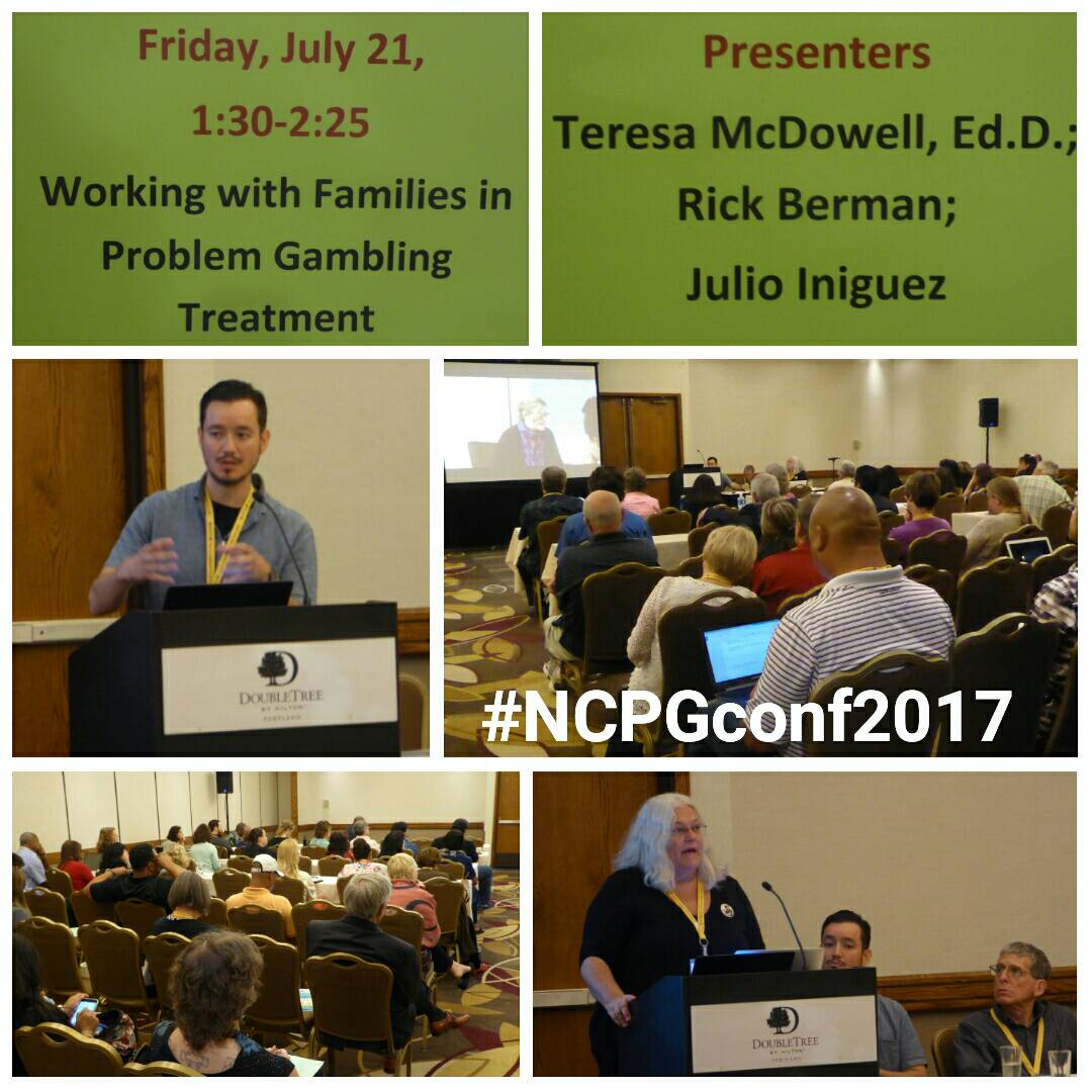 #NCPGconf2017 featured a wonderful session on working with families in #problemgambling treatment  #NCPG #responsiblegambling<br>http://pic.twitter.com/MsFKAM2IfG