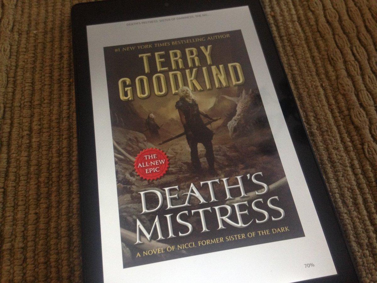 terry goodkind deaths mistress