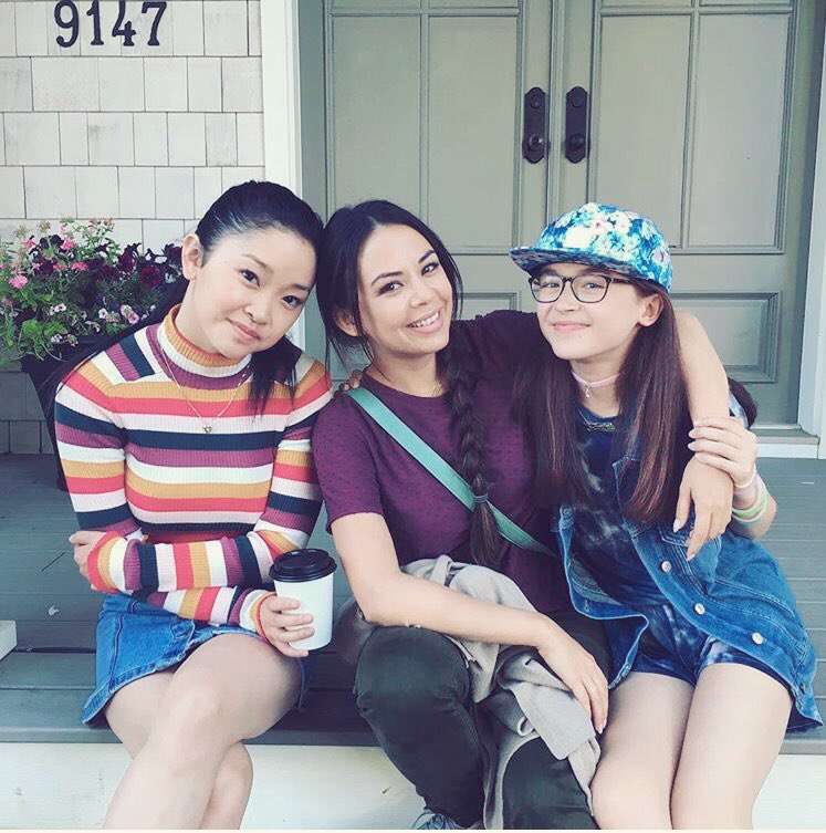 Image result for to all the boys i loved before and cast