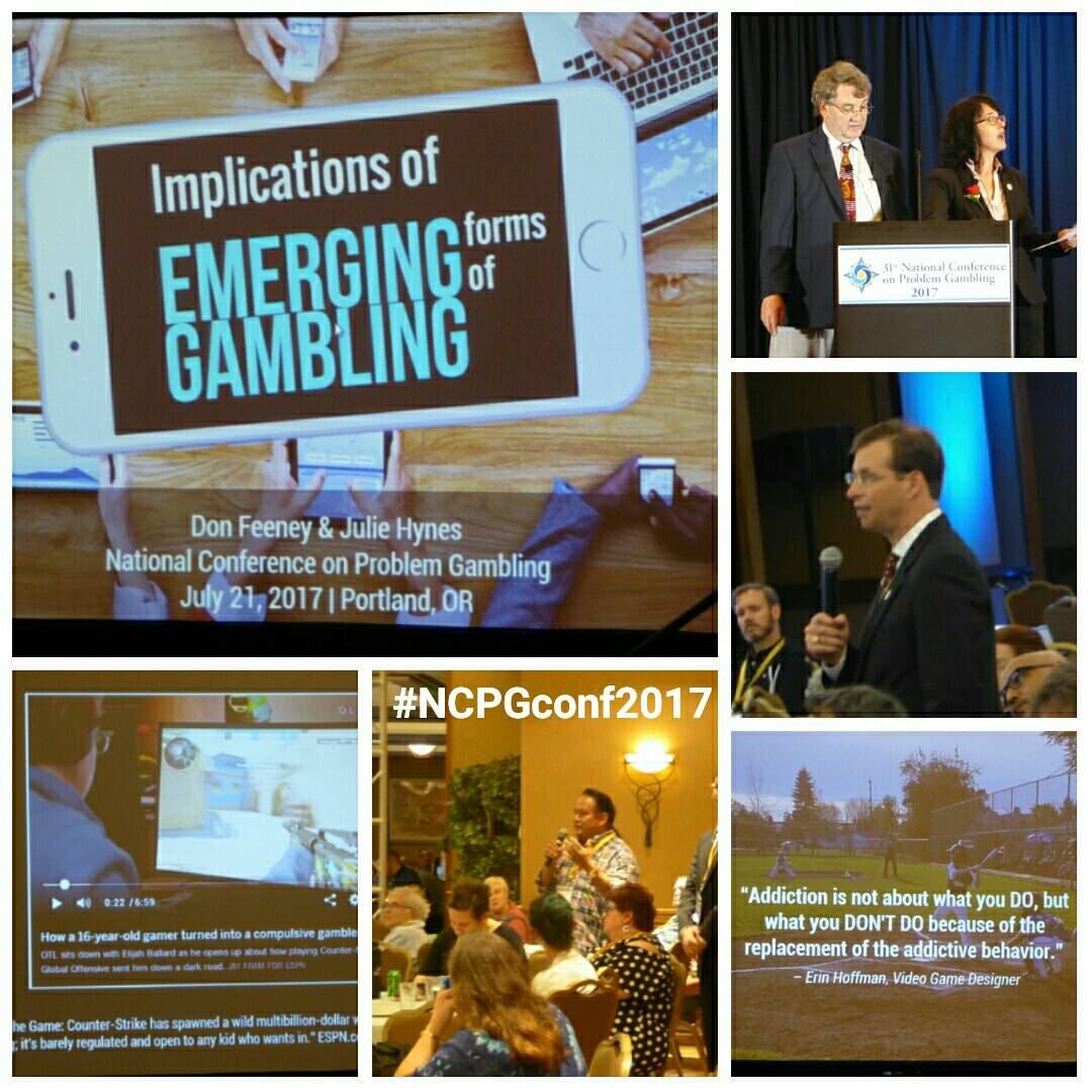 #NCPG Don Freeney &amp; Julie Hynes finished the day with a stimulating discussion &amp; questions from the audience #NCPGconf2017 #problemgambling <br>http://pic.twitter.com/iNOfisG21P