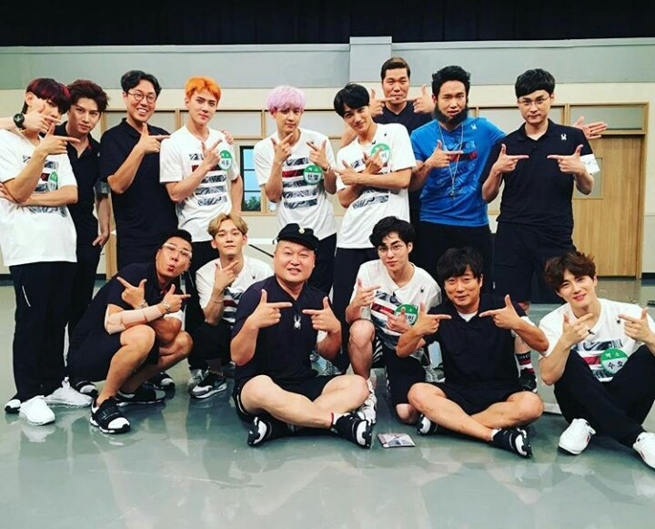 on twitter streaming link for jtbc knowing brother exo 508 pm 21 jul 2017 stopboris Image collections