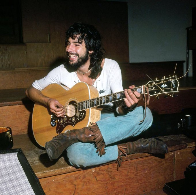 Happy Birthday to Cat Stevens. I hope his day has been great. :)