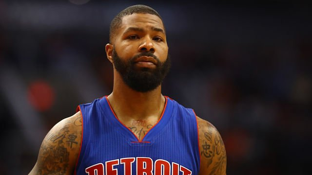New Celtics forward Marcus Morris had a priceless reaction to Kyrie Irving's trade request. https://t.co/VY9LR2qzL1