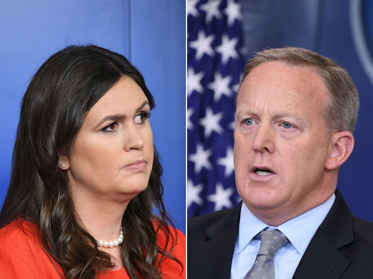 Sarah Huckabee Sanders named new White House press secretary after Sean Spicer resigns https://t.co/mfFkxj5wuK