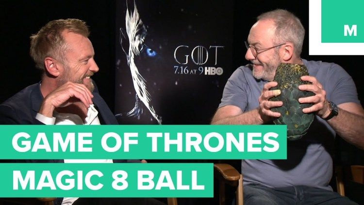 Game of Thrones Cast Members Ask a Dragon Egg Magic 8-Ball About the Fate of Their Characters https://t.co/cPf65BIhvJ