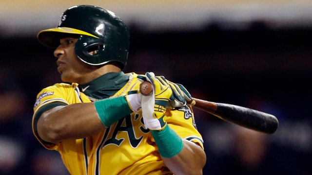 'I love Oakland all the time.' Yoenis Cespedes says he hopes to finish his career with the Oakland Athletics.  https://t.co/lAn1Jk53bK