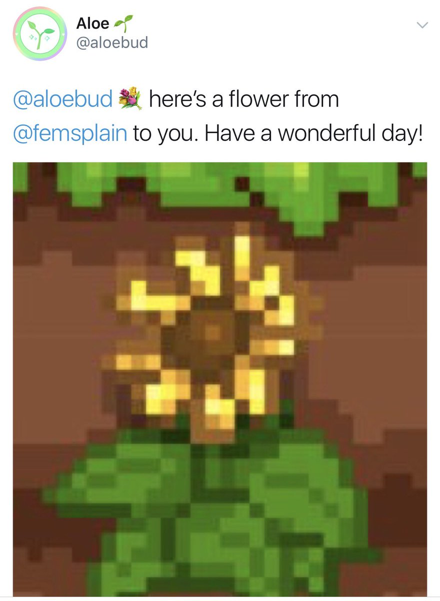"Aloe Bud ♡ on Twitter: ""🌹 Due to popular demand, you can now send flowers anonymously! 🐭🤐… """
