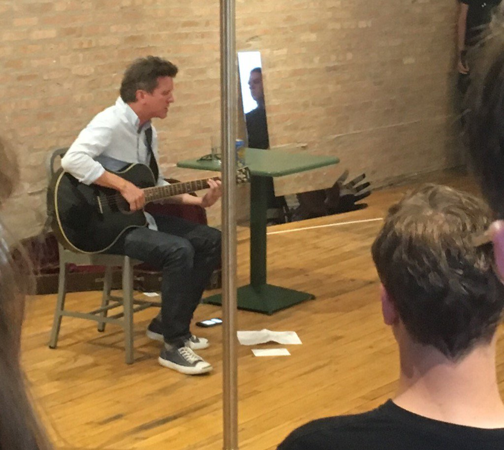 Mac McCaughan acoustic at Corbett vs. Dempsey. The music is on Ashland tonight. Camp Cope at Cobra Lounge up next.