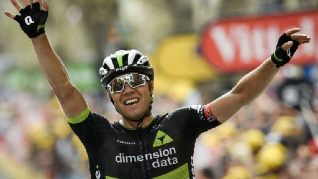 Boasson Hagen wins Tour 19th stage, Froome closes on title https://t.co/lhrqk8GfRt