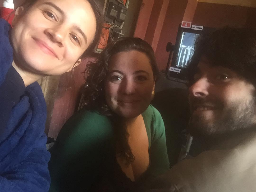 @bibicomparato com a diretora e o criador da série! ❤ #3porcento