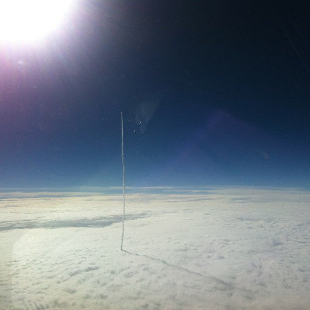 &quot;My #friend is an airline #pilot He was startled by the #launch of the MUOS-2 #satellite this #morning&quot; #space #cosmos #nasa #universe<br>http://pic.twitter.com/XlUDf2icFB
