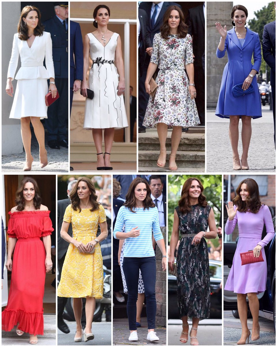 Recap of The Duchess's looks from the Po...