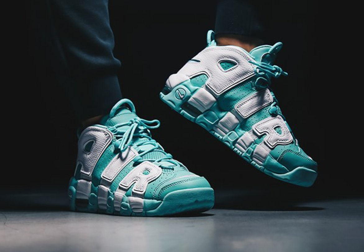 IcySole on Twitter u0026quot;GS Nike Air More Uptempo u2018ISLAND ...
