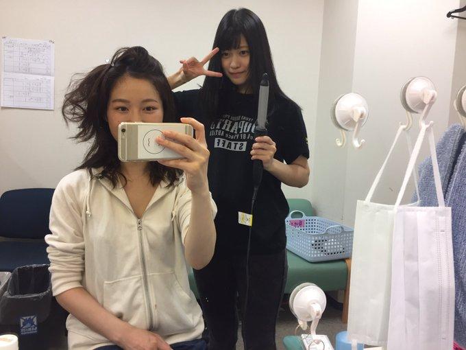 髪のアクセサリーが素敵な平田薫さん