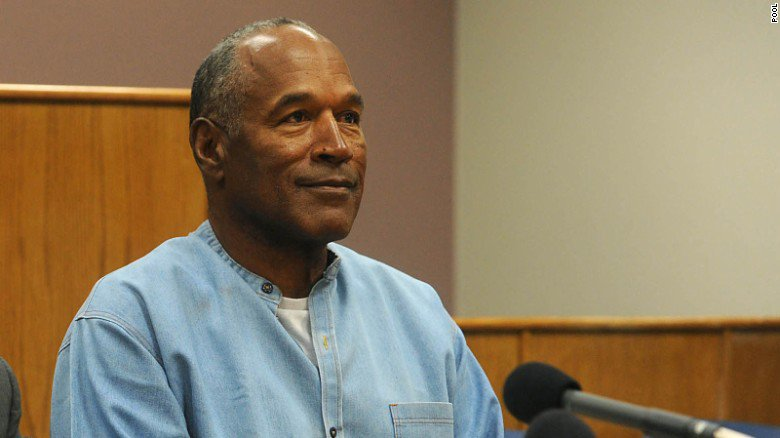 This is what O.J. Simpson said at his parole hearing