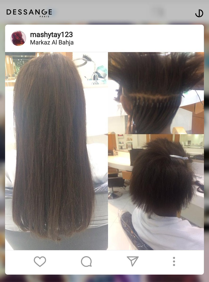 Dessangeparis Muscat On Twitter Hair Extensions Done Right For A