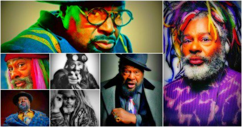 Happy Birthday to George Clinton (born July 22, 1941)
