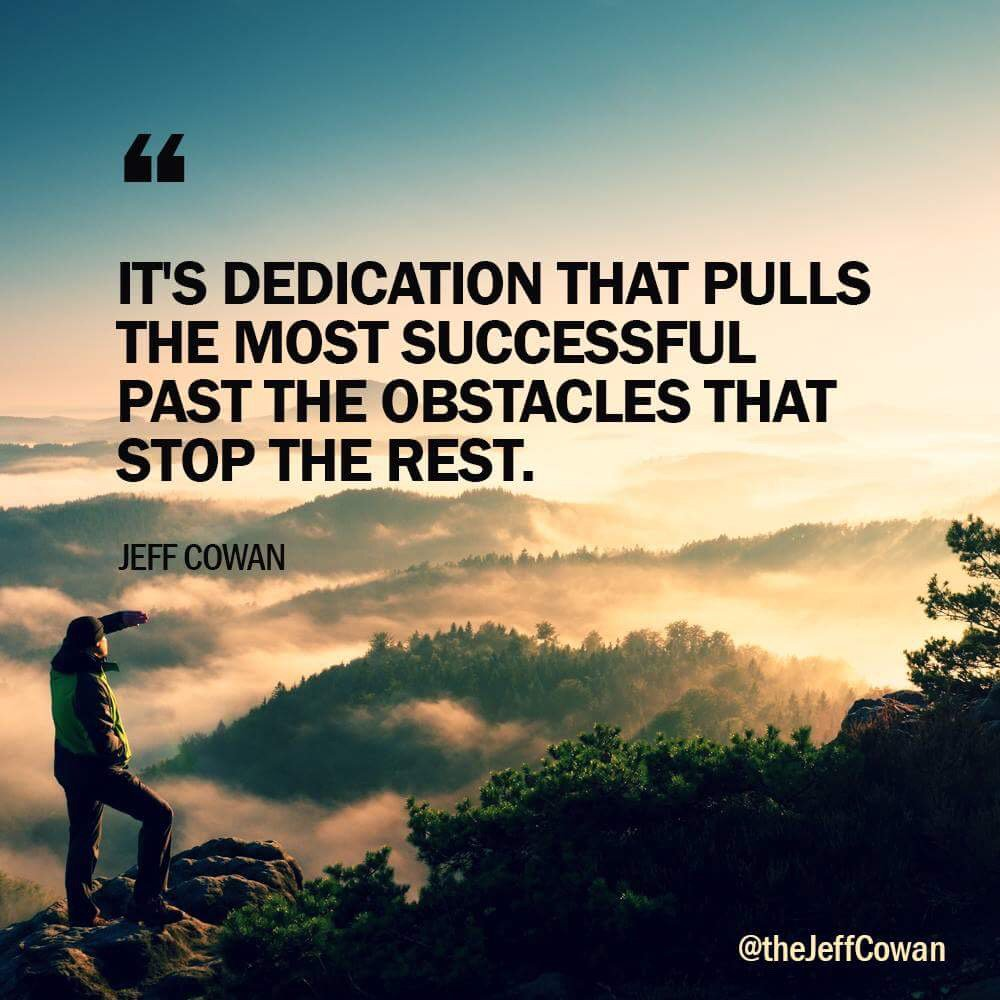 If you believe in yourself and have dedication and drive- you will be a success. #SaturdayMorning <br>http://pic.twitter.com/DXVS1XXi7p