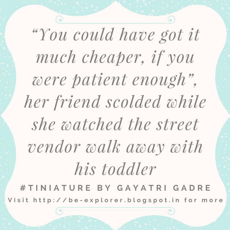 #Tiniature.  To participate- 1.RT 2.reply with ur #TinyStory 3.use #Tiniature #tinystories #microstories #tinytales #amwriting #BeingAuthor https://t.co/n6SUHn4c1T