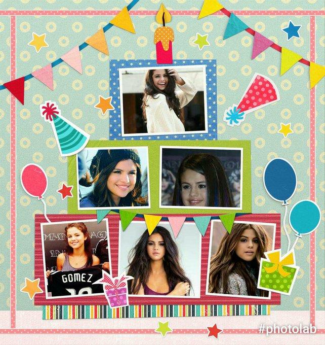 Happy Birthday 25 Selena Gomez