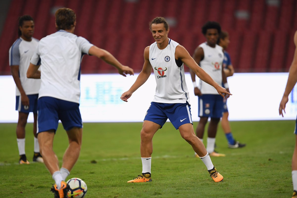 📸 Training yesterday. 👀 #CFCTour
