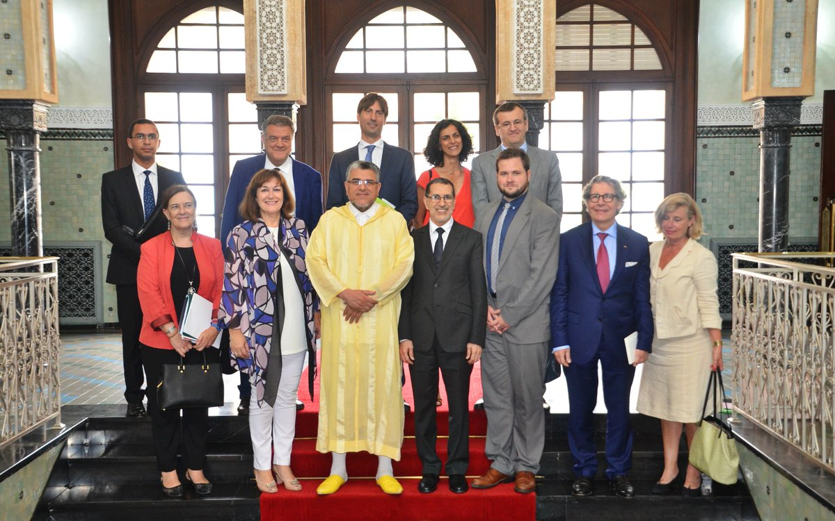 Looking back at successful and positive meetings of @EP_ForeignAff Delegation to #Morocco led by Vice-Chair @AndersVistisen.