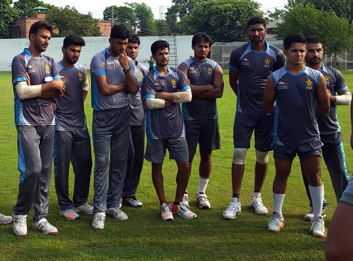 High Performance Camp underway at the National Cricket Academy in Lahore