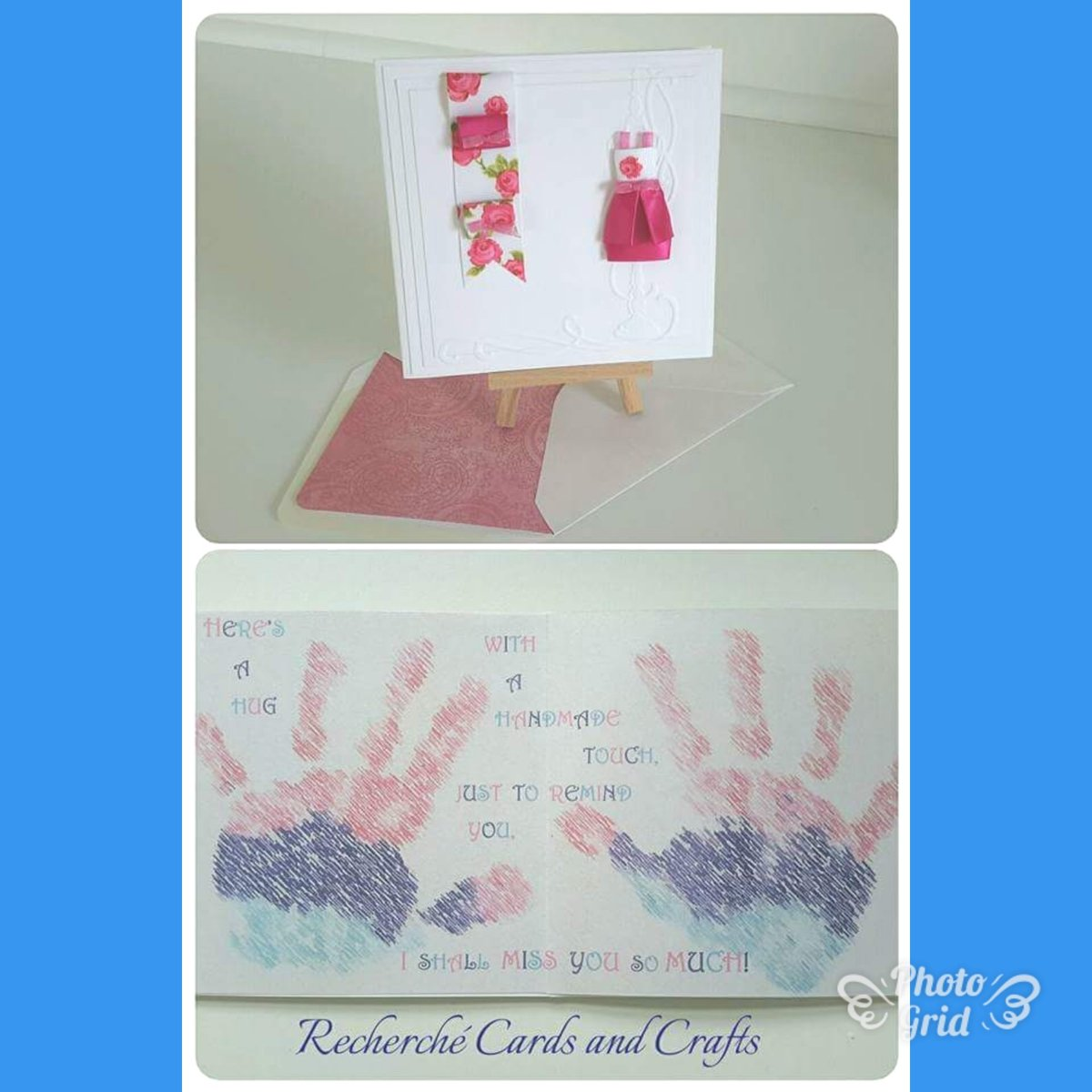 #Teacher&#39;s #card with a message and little girl&#39;s  hand prints. So #personal  Technology is a wonderful thing; when it works  #Recherchè<br>http://pic.twitter.com/zPixvDc3Vj