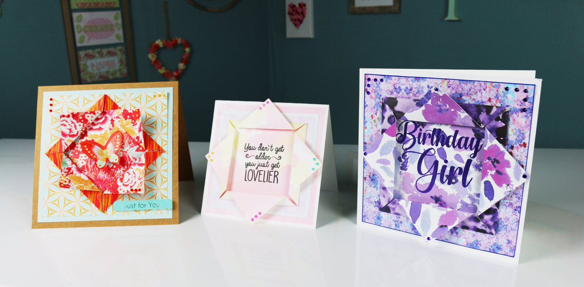 Discover how to make these folded toppers for your cards  https://www. youtube.com/watch?v=EuDSjy uyRIA &nbsp; …  #cardmaking #papercraft #tutorial #video #howto<br>http://pic.twitter.com/BApCN671kz