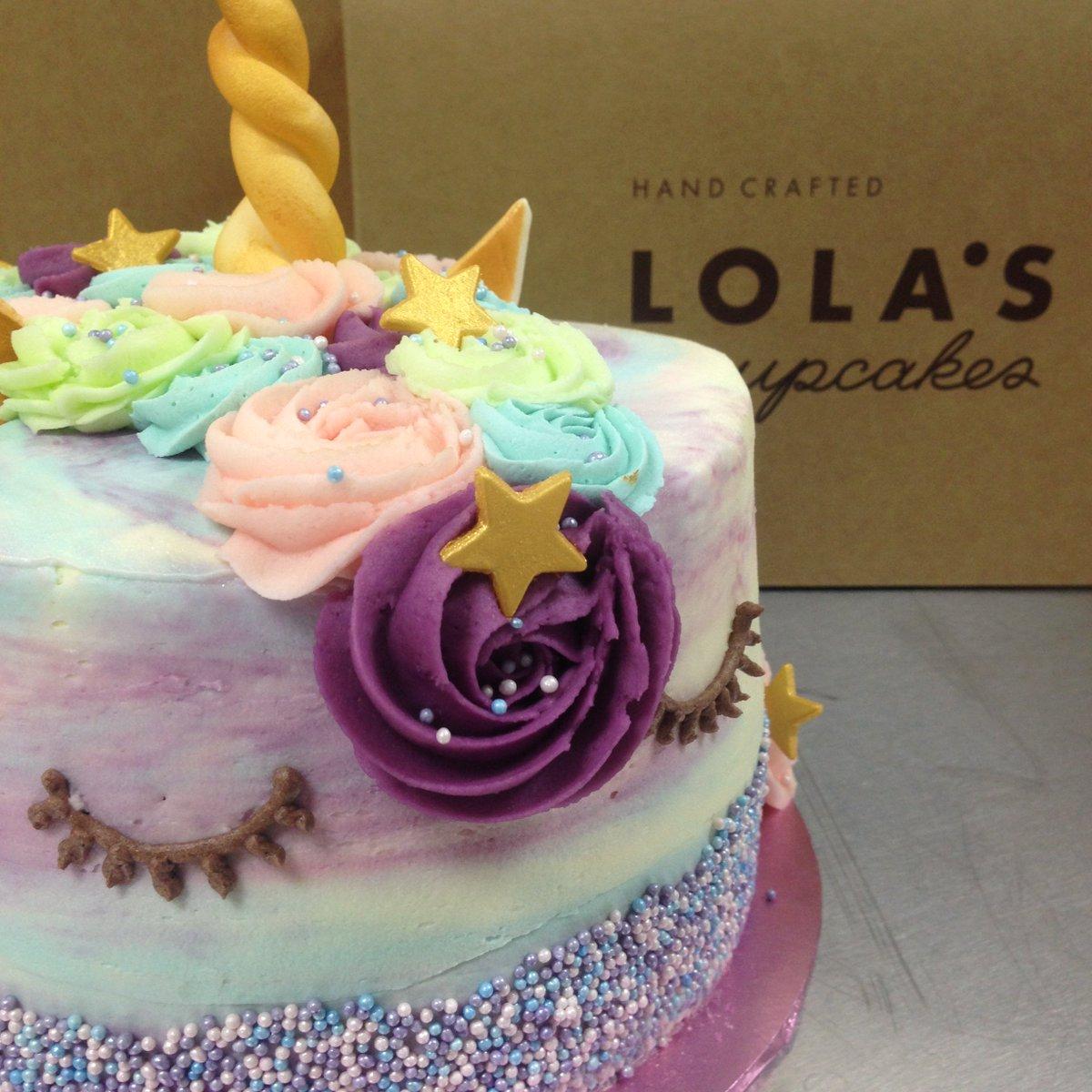 Lolas Cupcakes Birthday Cake