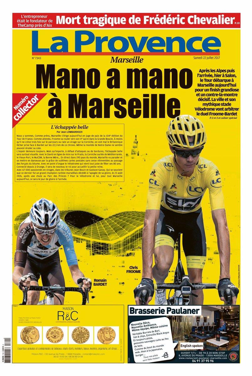 Qu'est-ce qui est jaune et en vente en kiosque à Marseille?