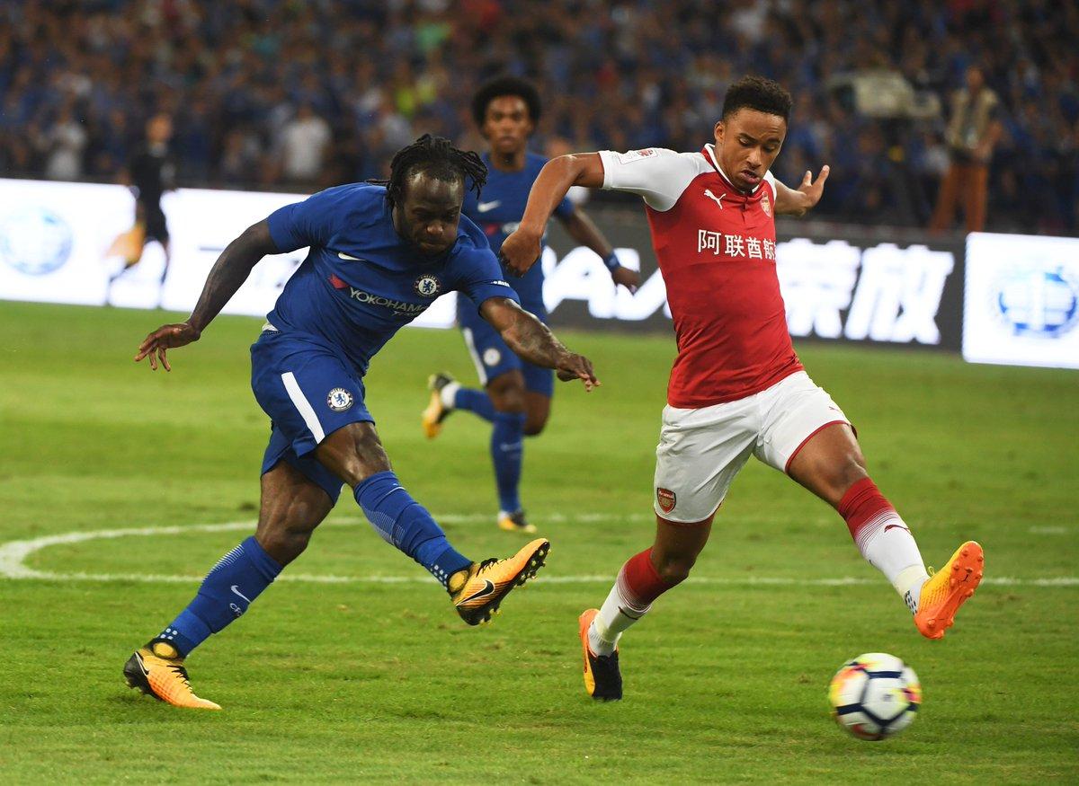 Arsenal 0-3 Chelsea: First pre-season defeat since 2014