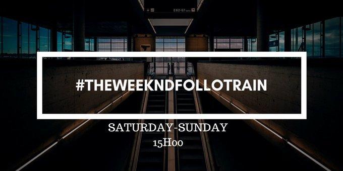 Day 1  #TheWeekndFolloTrain  RT &amp; Follow  <br>http://pic.twitter.com/npJRJQ5FQR