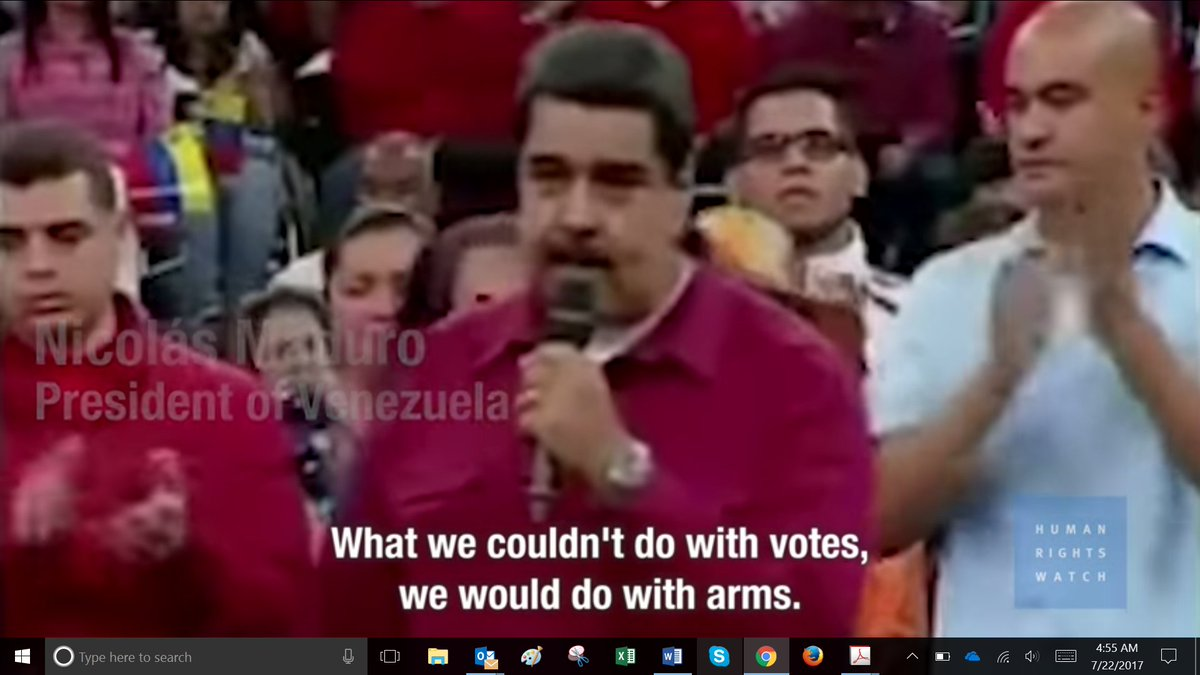 This video collection of Maduro violent repression is a shocking rebuke to this supposed Venezuela man of the people https://t.co/TnFIPkkfG4