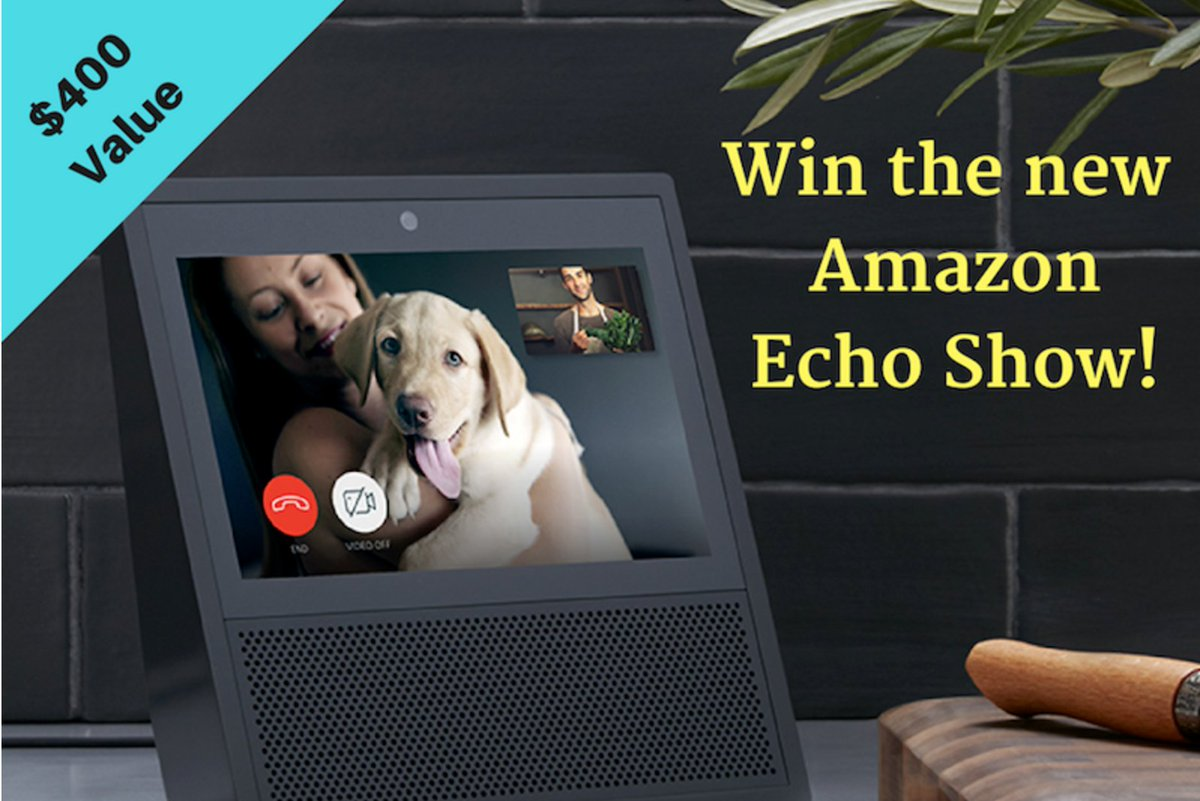 #Win an #Amazon #Echo Show! #Electronics #AmazonEcho #ForTheHome #Giveaway #Sweepstakes #ManCave #Upgrade   https:// goo.gl/s2kB3Y  &nbsp;  <br>http://pic.twitter.com/iPm27tGPLt