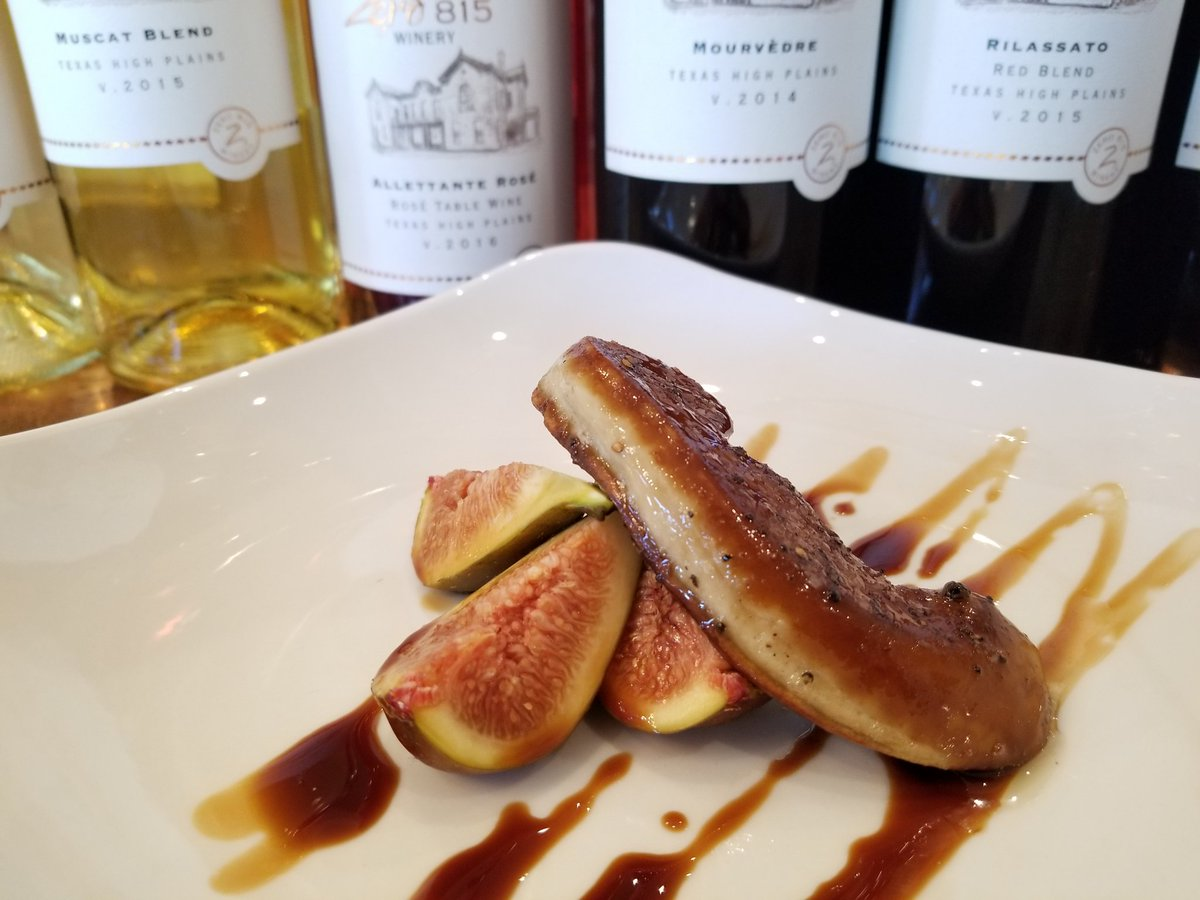 Hungry and want a great #Texas wine to enjoy? Try Chef Karl&#39;s creations on our new bistro menu! Yes, in #Hye, #Tx #wine #winelovers #tasting<br>http://pic.twitter.com/1nqwDVqt39