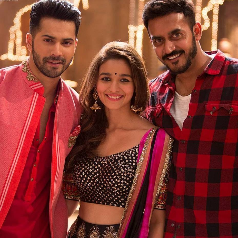 Behind the scenes - #BadrinathKiDulhania  #VarunDhawan and #AliaBhatt  RT if you want to see them again on the big screen! <br>http://pic.twitter.com/LcS3F8gS3n
