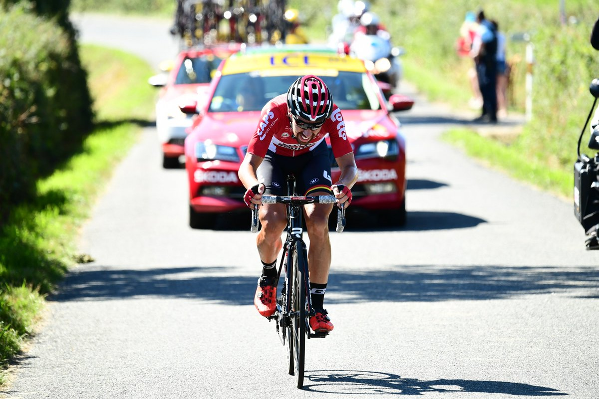 RT pour voter pour @DeGendtThomas pour le titre de Super Combatif du #TDF2017 / RT to vote for T. De Gendt 💪 #PrixAntargaz