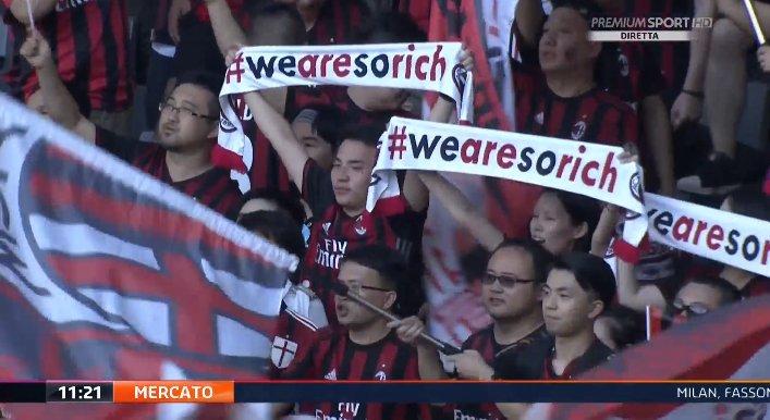 Milan-Bayern, le ardite sciarpe dei tifosi. E Mirabelli suggerisce a Biglia... - https://t.co/pl3BdDl8E8 #blogsicilianotizie #todaysport