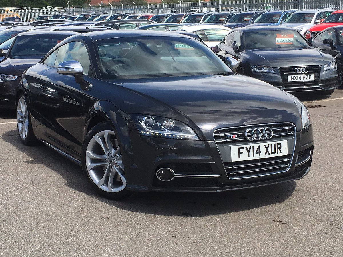 Just in a 2014 #TTS #quattro s-tronic with navigation/xenons/leather plus more £20995 full Audi history!<br>http://pic.twitter.com/W7yxdbSkUQ