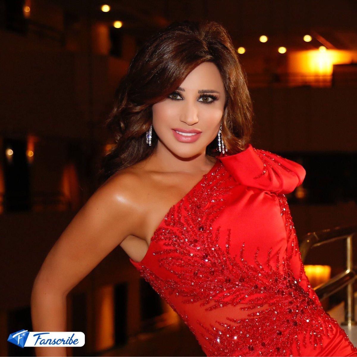 Bisara7a Com بصراحة On Twitter بالصور نجوى كرم تتألق بالاحمر في