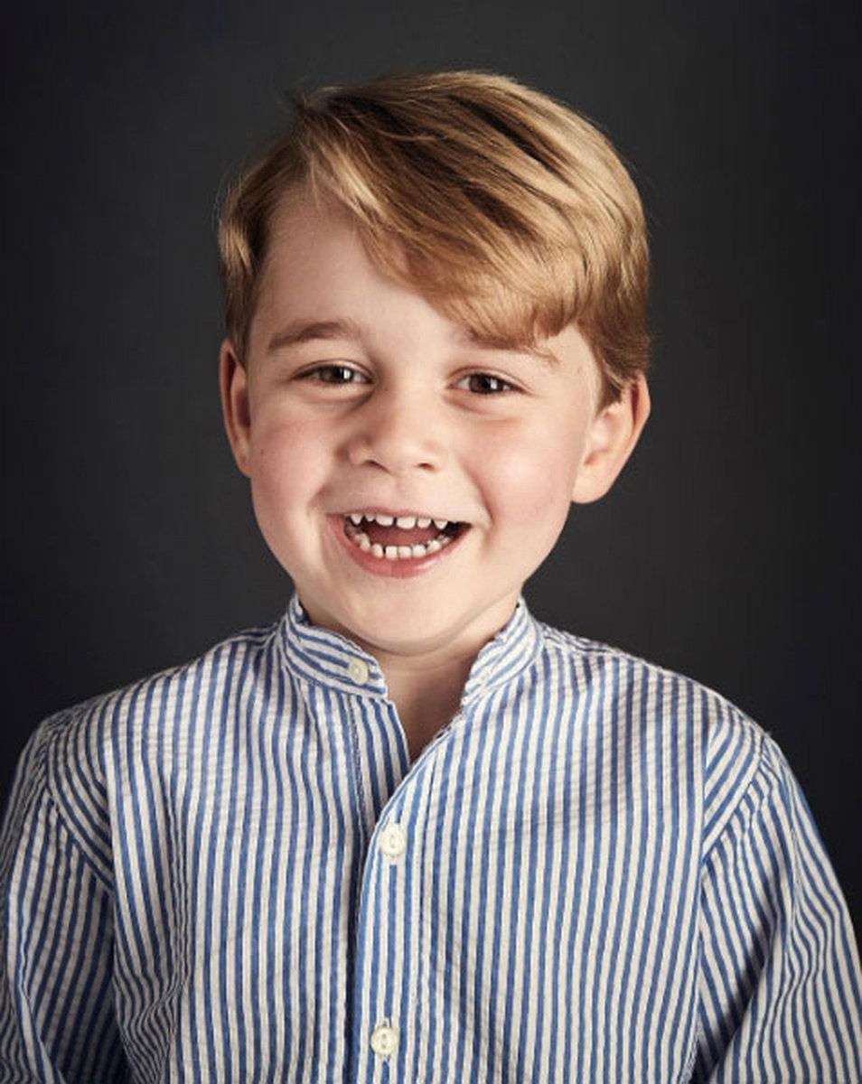 Príncipe George completa 4 anos  https://t.co/WzrwmXIMmM #G1